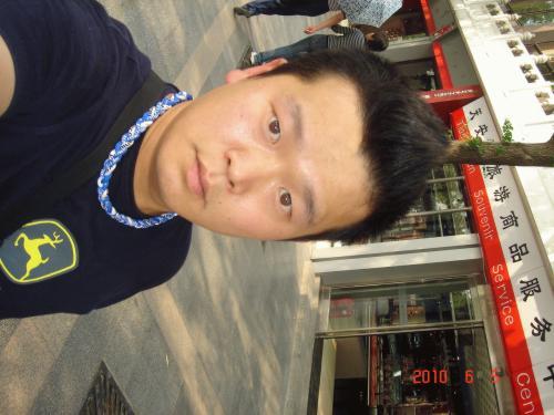 중국에서 ^o^
