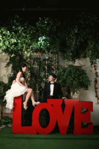 결혼사진액자용